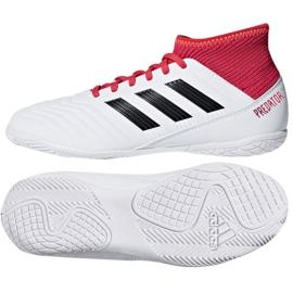 Zapatillas de interior Adidas Predator Tango 18.3 en Jr CP9073 blanco rojo blanco 3