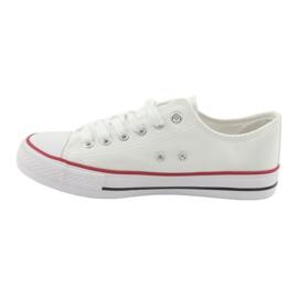 Zapatillas Atletico CNSD-1 blancas blanco 3