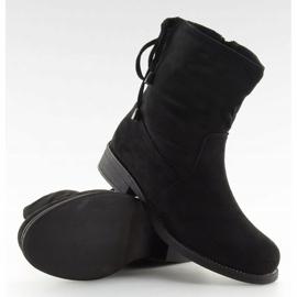 Zapatos de mujer negros 7378-PA Negro 3