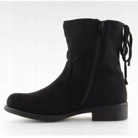 Zapatos de mujer negros 7378-PA Negro 4