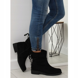 Zapatos de mujer negros 7378-PA Negro 1