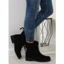 Zapatos de mujer negros 7378-PA Negro imagen 1