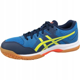 Zapatillas de voleibol Asics Gel-Rocket 9 M 1071A030-400 azul azul 1