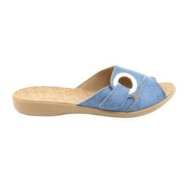 Zapatos de mujer befado pu 265D015 azul 1