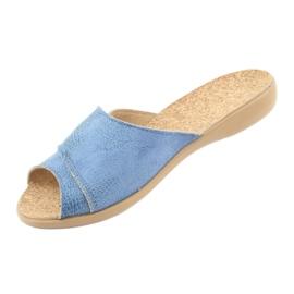 Zapatos de mujer befado pu 265D015 azul 3