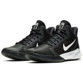 Nike Precision Iii M AQ7495 002 Calzado de baloncesto negro 2