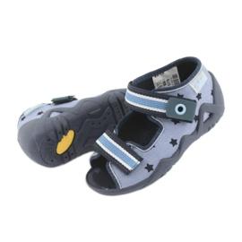 Zapatos befado azul para niños 250P079 4