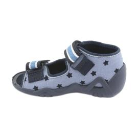 Zapatos befado azul para niños 250P079 2