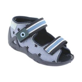 Zapatos befado azul para niños 250P079 1