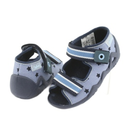 Zapatos befado azul para niños 250P079 3