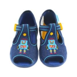 Zapatillas befado para niños 217P103 azul 4