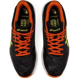 Zapatillas de voleibol Asics Netburner Ballistic Ff Mt M 1051A003 003 negro negro 1