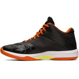 Zapatillas de voleibol Asics Netburner Ballistic Ff Mt M 1051A003 003 negro negro 2