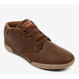 Zapatillas marrones para hombre 15M787 marrón 1