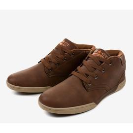 Zapatillas marrones para hombre 15M787 marrón 2