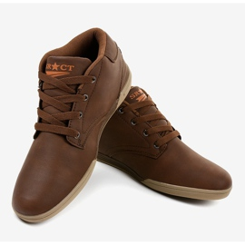 Zapatillas marrones para hombre 15M787 marrón 3