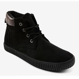 Zapatillas de hombre con aislamiento negro AN06 1