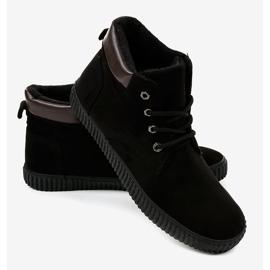 Zapatillas de hombre con aislamiento negro AN06 2