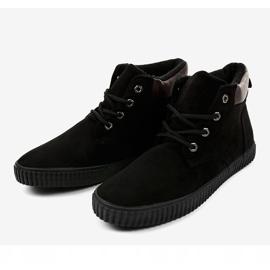 Zapatillas de hombre con aislamiento negro AN06 3