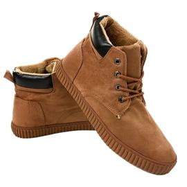 Zapatillas de hombre con aislamiento marrón AN06 2
