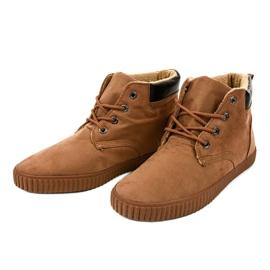 Zapatillas de hombre con aislamiento marrón AN06 3