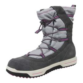 Botas de invierno Timberland Snow Stomper Pull On Wp Jr A1UJ7 gris 1