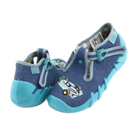 Zapatillas befado infantil 110P320 azul 4