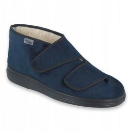 Zapatos de mujer befado pu 986D010 azul marino 1
