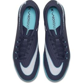 Zapatillas de interior Nike HypervenomX Phelon Iii Ic marina azul marino, azul 3