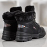 Yes Mile Zapatillas Con Piel negro 2
