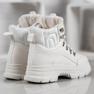 SHELOVET Zapatillas con aislamiento blanco 3