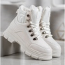 SHELOVET Zapatillas con aislamiento blanco 4