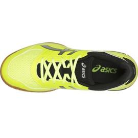 Zapatillas de voleibol Asics Gel-Rocket 8 M B706Y-750 amarillo multicolor 2