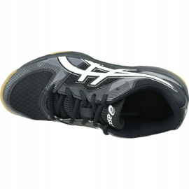 Zapatillas de voleibol Asics Gel-Tactic Gs Jr 1074A014-003 negro negro 2