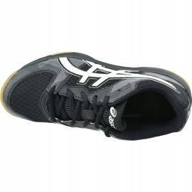 Zapatillas de voleibol Asics Gel-Tactic Gs Jr 1074A014-003 negro negro 2