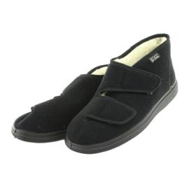 Befado zapatos de hombre pu 986M011 negro 4