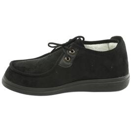 Zapatillas de mujer befado pu 387D005 negro 3