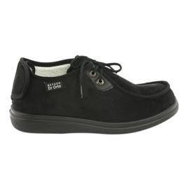 Zapatillas de mujer befado pu 387D005 negro 1