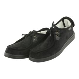 Zapatillas de mujer befado pu 387D005 negro 4