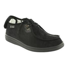Zapatillas de mujer befado pu 387D005 negro 2