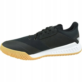 Zapatillas de voleibol Adidas Crazyflight Team M D97701 negro negro 1