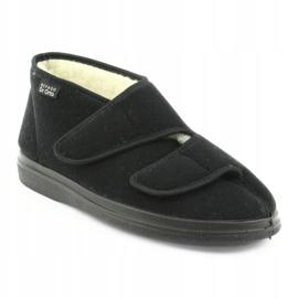 Befado zapatos de mujer pu 986D011 negro 2