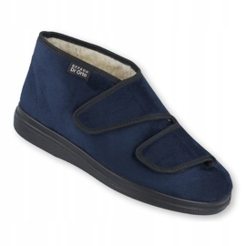 Zapatos de mujer befado pu 986D010 azul marino 2