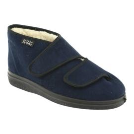 Zapatos de mujer befado pu 986D010 azul marino 3
