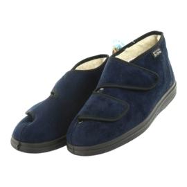 Zapatos de mujer befado pu 986D010 azul marino 4