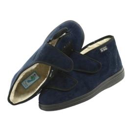 Zapatos de mujer befado pu 986D010 azul marino 5