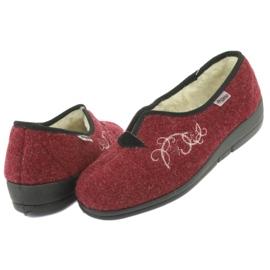 Zapatillas de mujer befado pu 940D355 rojo 5