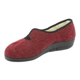 Zapatillas de mujer befado pu 940D355 rojo 3