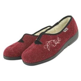 Zapatillas de mujer befado pu 940D355 rojo 4