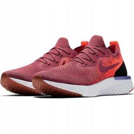 Zapatillas de running Nike Epic React Flyknit W AQ0070 601 rojo 1